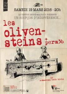 concert olivensteins + perm 36